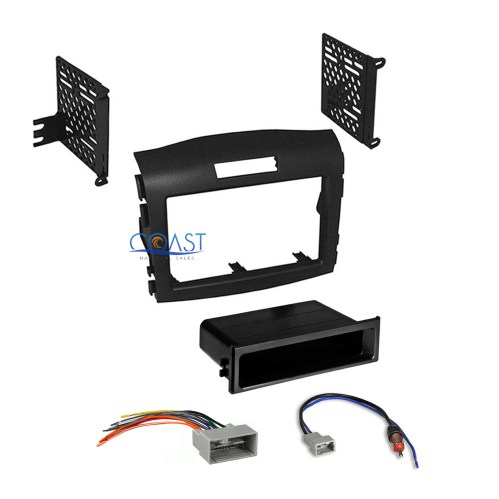 small resolution of car radio stereo install dash kit wiring harness for 2012 2016 honda cr v crv