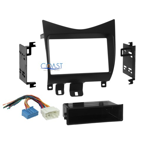 small resolution of car radio stereo single double din dash kit wire harness 2003 2007 mix car radio stereo honda