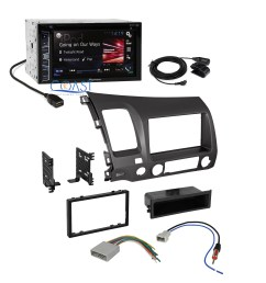 pioneer car radio stereo 2 din dash kit wire harness for pioneer wiring harness color code pioneer wiring harness diagram [ 2632 x 2632 Pixel ]