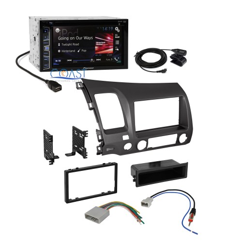 small resolution of pioneer car radio stereo 2 din dash kit wire harness for pioneer wiring harness color code pioneer wiring harness diagram