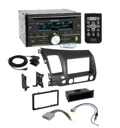 details about pioneer radio stereo dash kit wire harness antenna for 2006 2011 honda civic [ 2235 x 2235 Pixel ]