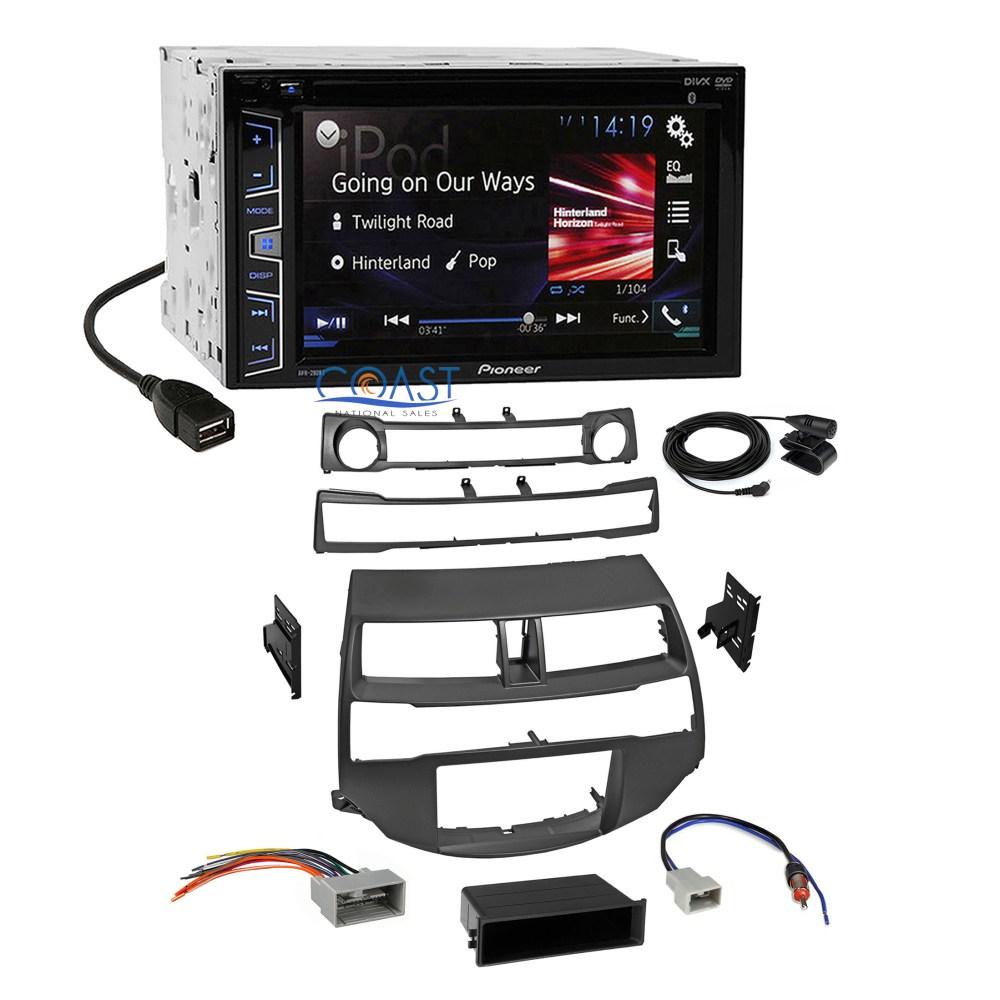 medium resolution of pioneer car radio stereo dash kit harness antenna for 2008 2012 dash kit 2din w harness antenna steering controls for honda ebay