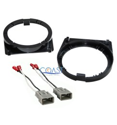 details about front door speaker adapter bracket plate wire harness for honda accord [ 2400 x 2400 Pixel ]