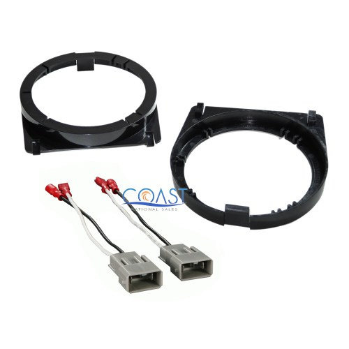 small resolution of details about front door speaker adapter bracket plate wire harness for honda accord