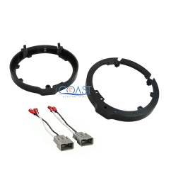details about front or rear car door speaker wire harness adapter brackets for honda acura [ 2400 x 2400 Pixel ]