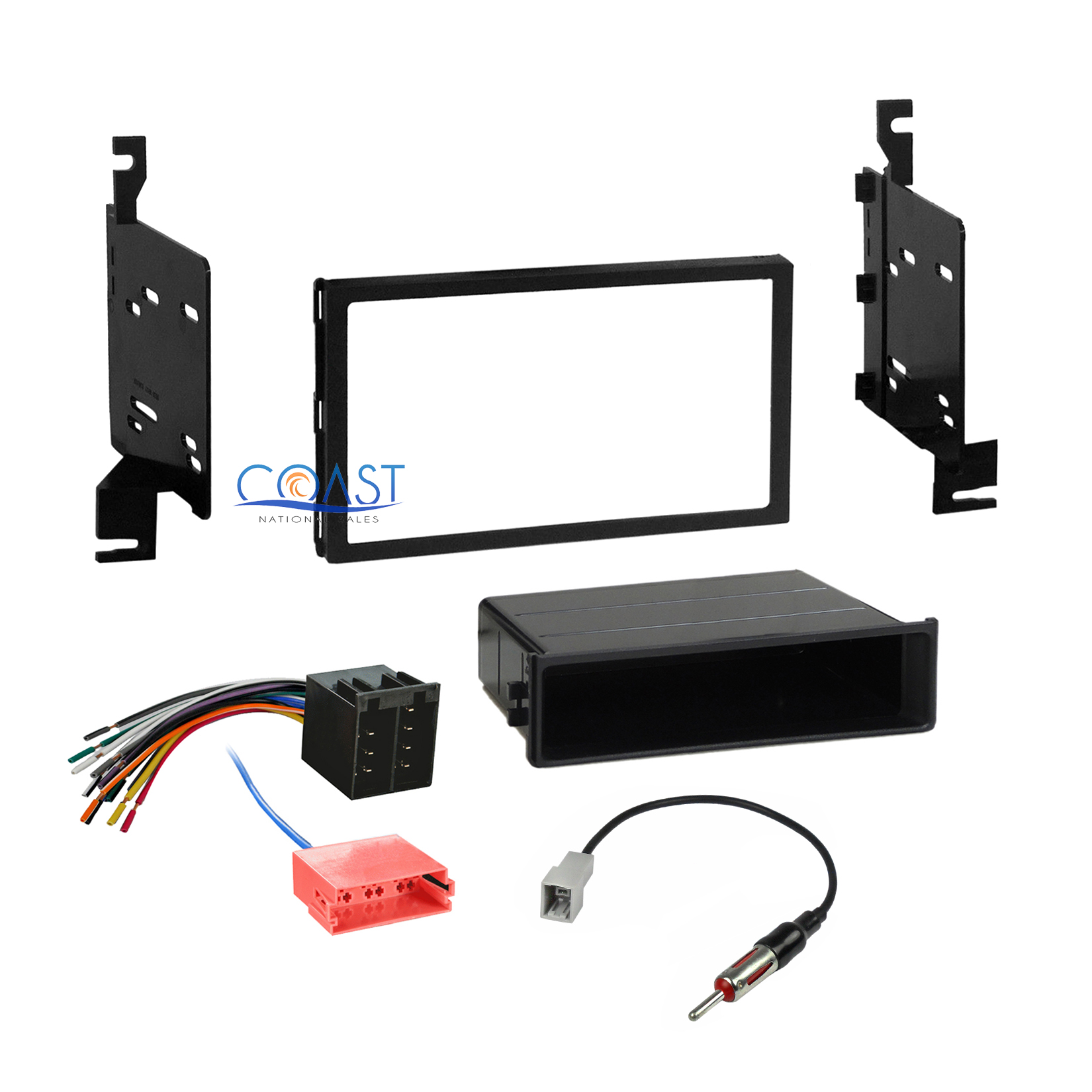 hight resolution of car radio stereo din 2 din dash kit wire harness for 2009 2010 hyundai elantra