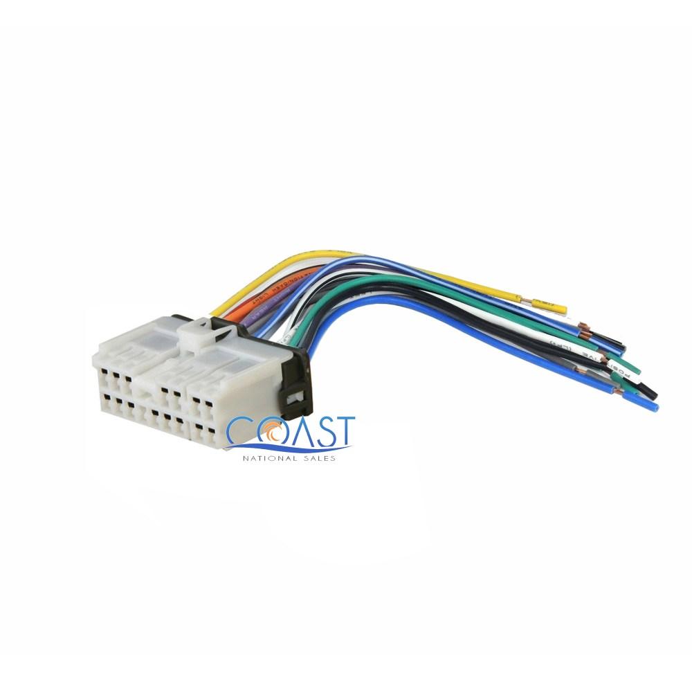 medium resolution of aftermarket car radio stereo wiring harness plug for select 1999 up hyundai kia