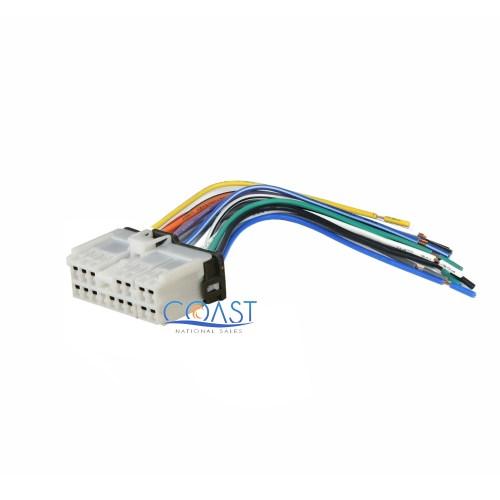 small resolution of aftermarket car radio stereo wiring harness plug for select 1999 up hyundai kia