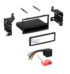 details about single din radio stereo dash kit harness for 2010 2011 hyundai accent kia rio [ 2112 x 2112 Pixel ]