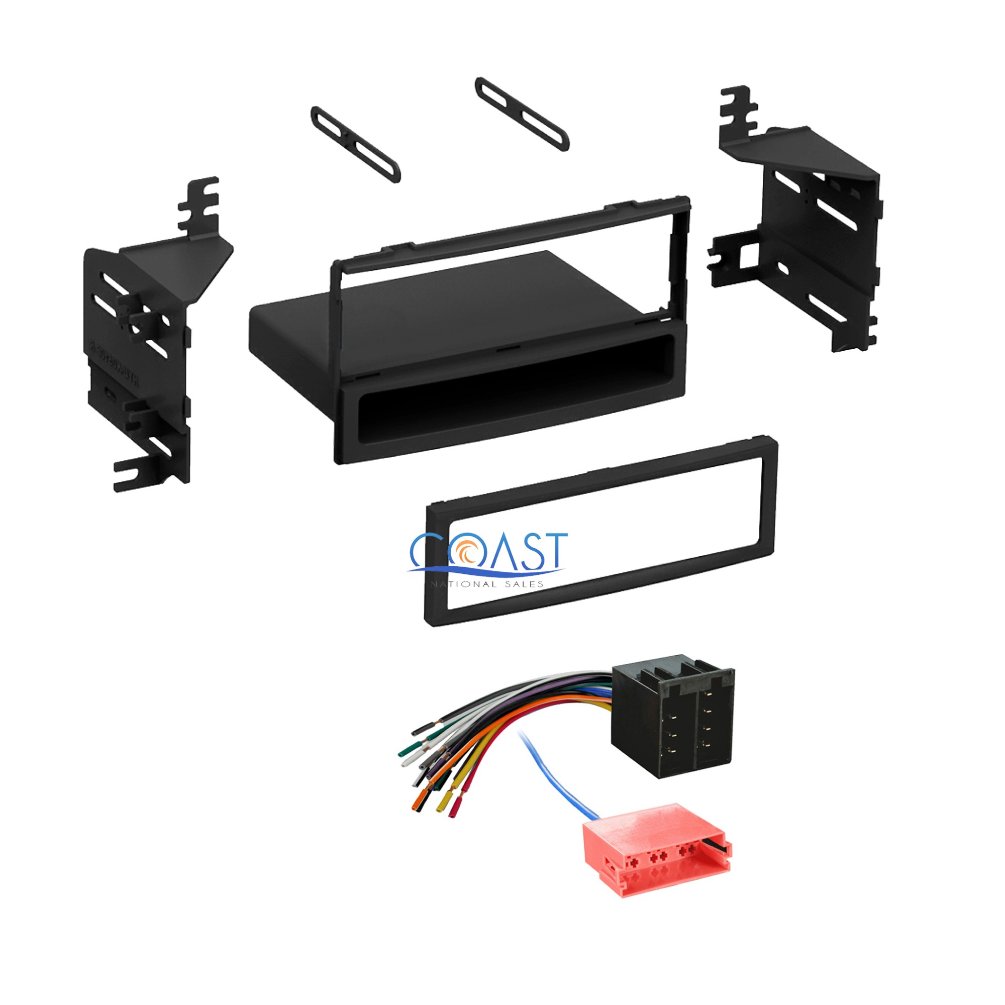hight resolution of details about single din radio stereo dash kit harness for 2010 2011 hyundai accent kia rio