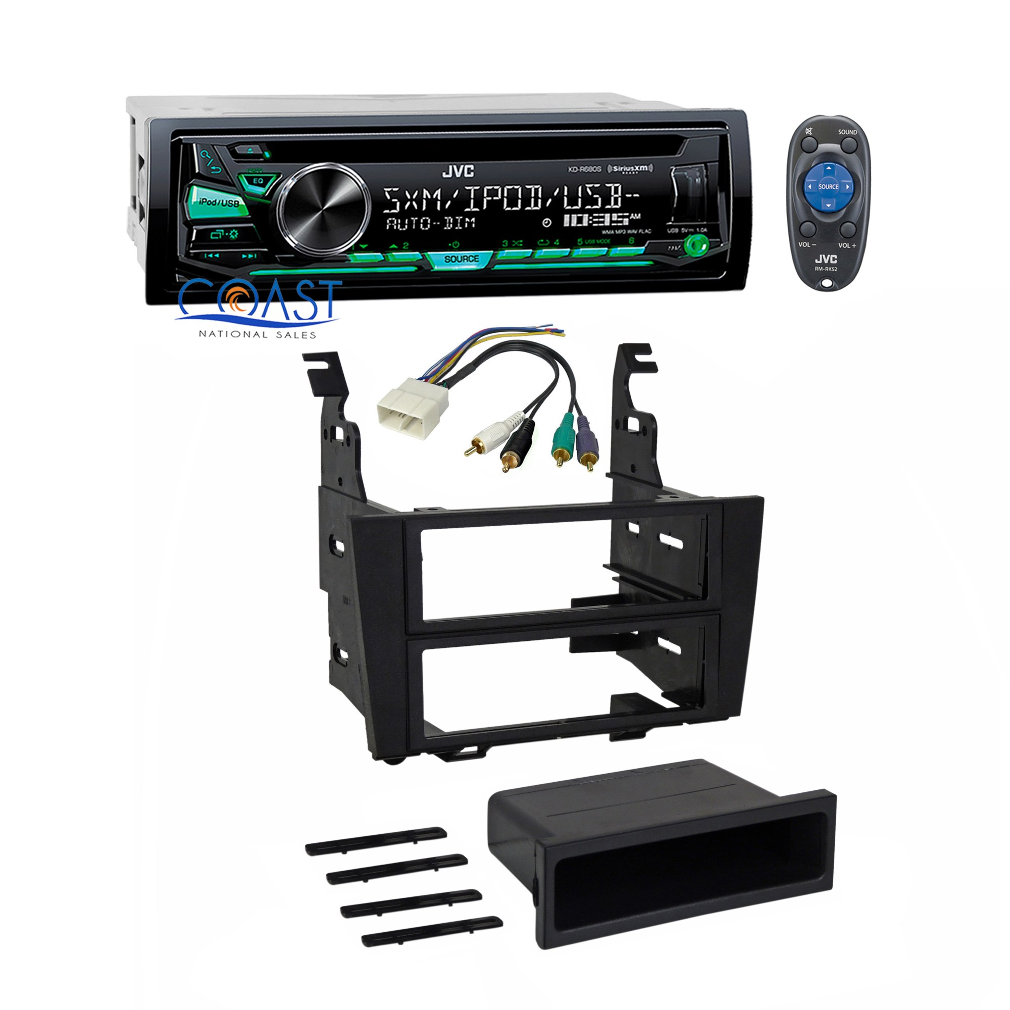 hight resolution of jvc car stereo radio single din dash kit harness for 1992 1996 lexus es300