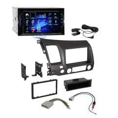Jvc Wiring Diagrams Car Audio 1990 Toyota Corolla Engine Diagram Radio Stereo Double Din Dash Kit Wire Harness For