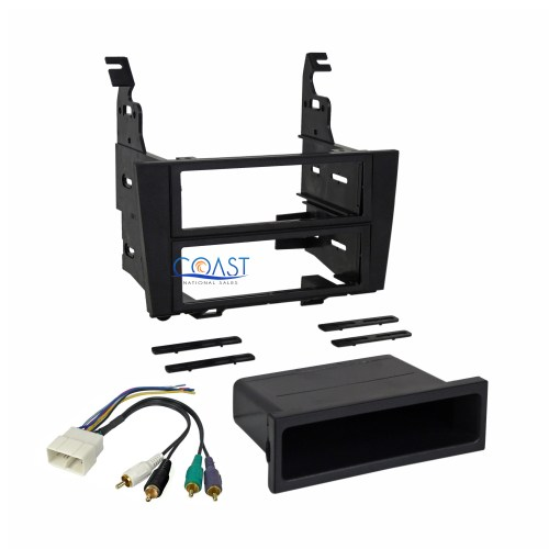 small resolution of car radio stereo single din install dash kit harness for 1992 1996 lexus es300