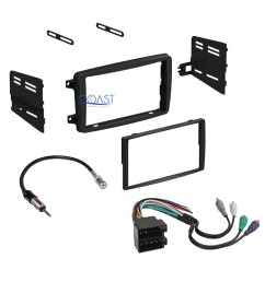 car radio stereo dash kit wire harness antenna for 2001 2004 mercedes c class [ 1641 x 1641 Pixel ]