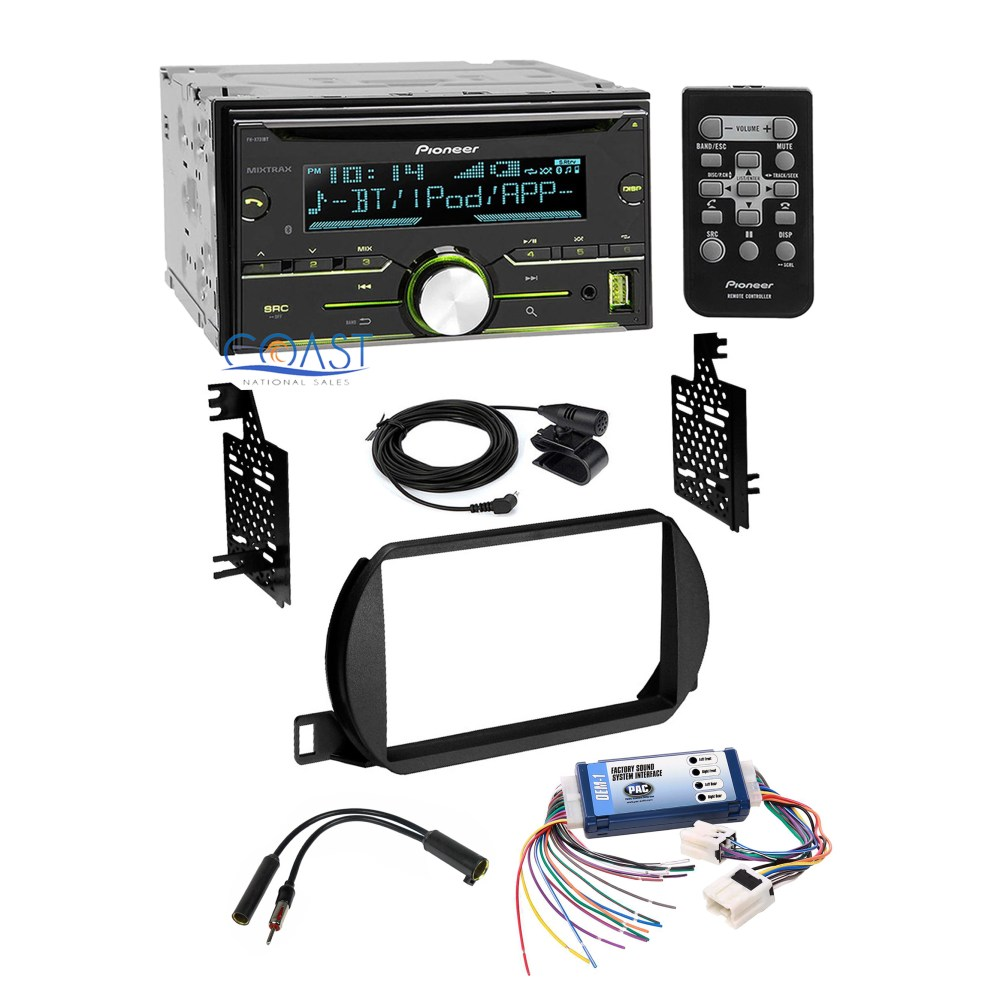 medium resolution of pioneer car radio stereo dash kit bose wire harness for 2002 04 nissan altima