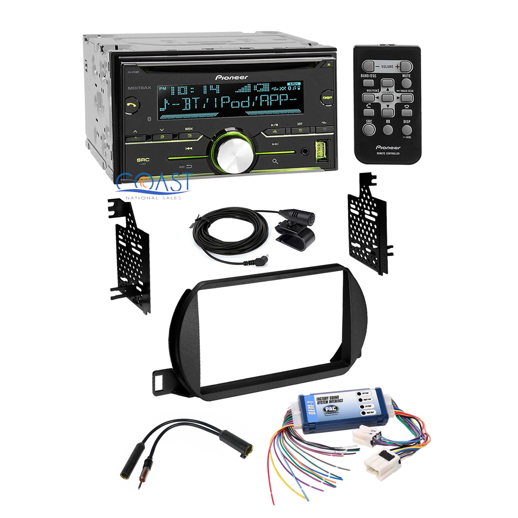 hight resolution of pioneer car radio stereo dash kit bose wire harness for 2002 04 nissan altima