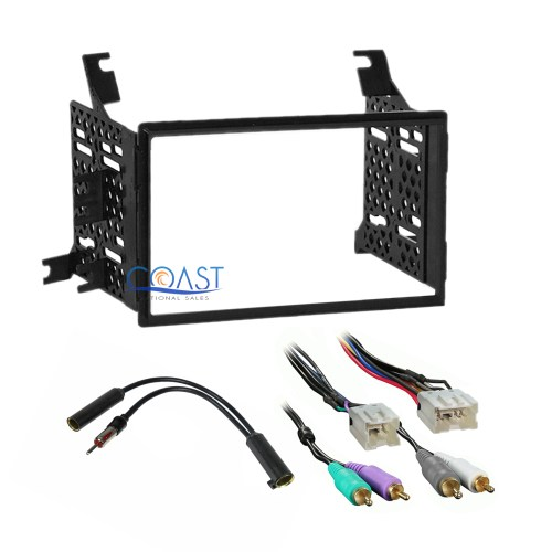 small resolution of car radio stereo dash kit amp wire harness for 05 07 nissan pathfinder xterra