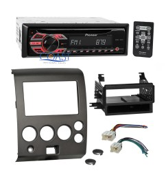 details about pioneer cd mp3 car radio stereo dash kit harness for 2004 nissan armada titan [ 2070 x 2070 Pixel ]