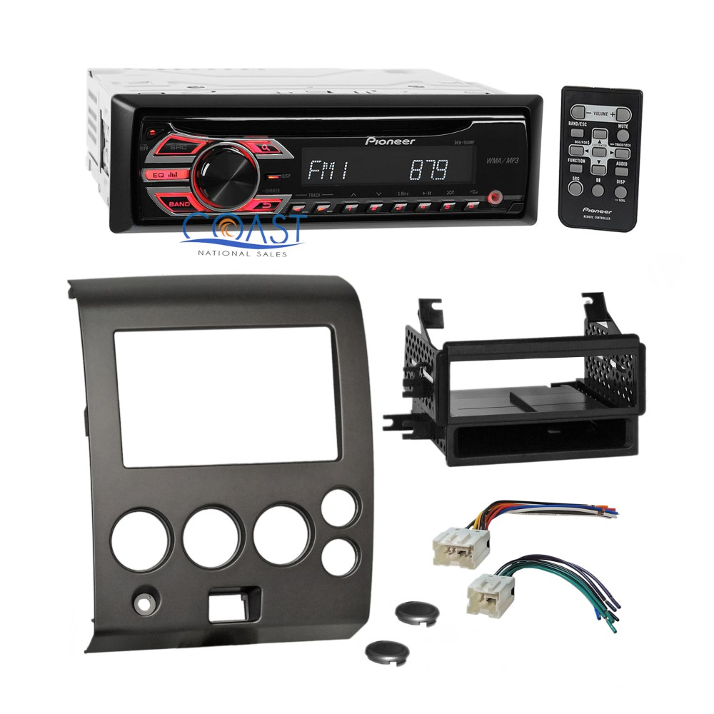 medium resolution of details about pioneer cd mp3 car radio stereo dash kit harness for 2004 nissan armada titan