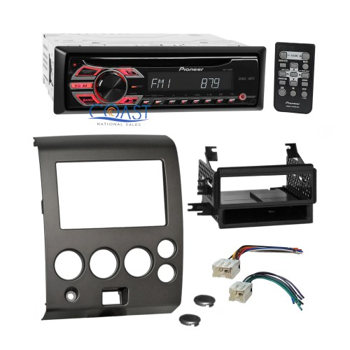small resolution of details about pioneer cd mp3 car radio stereo dash kit harness for 2004 nissan armada titan
