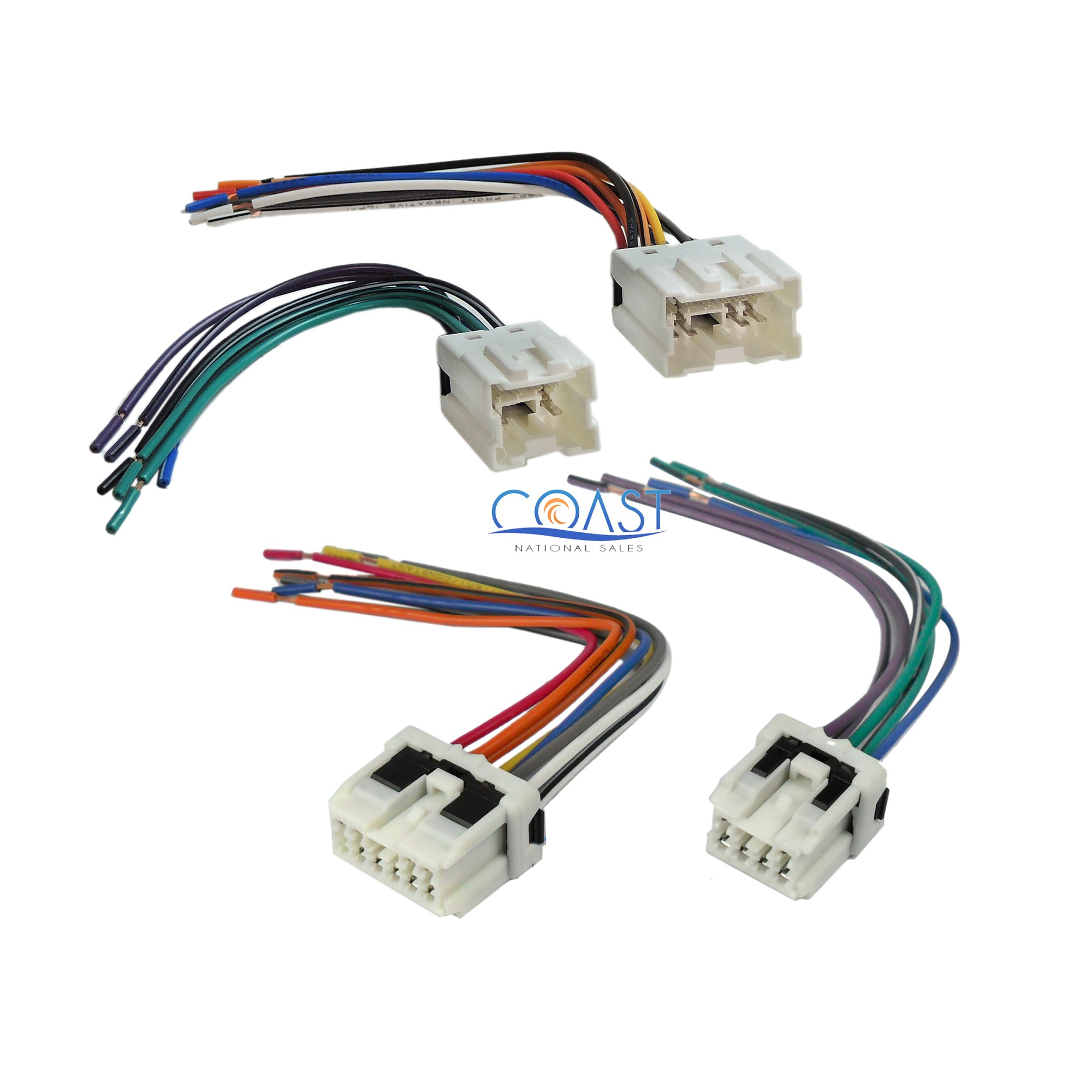 hight resolution of car radio stereo wiring harness plug combo for select 1995 up nissan infiniti
