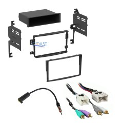 Nissan 350z Audio Wiring Diagram Gm One Wire Alternator Car Radio Stereo Dash Kit Harness Antenna For 2006