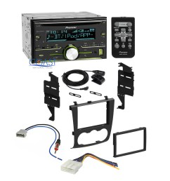 pioneer car radio stereo dash kit wiring harness for 2007 2011 nissan altima [ 1920 x 1920 Pixel ]