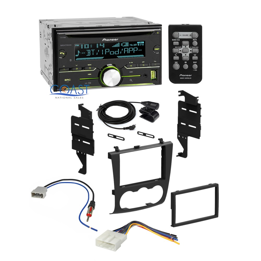 medium resolution of pioneer car radio stereo dash kit wiring harness for 2007 2011 nissan altima