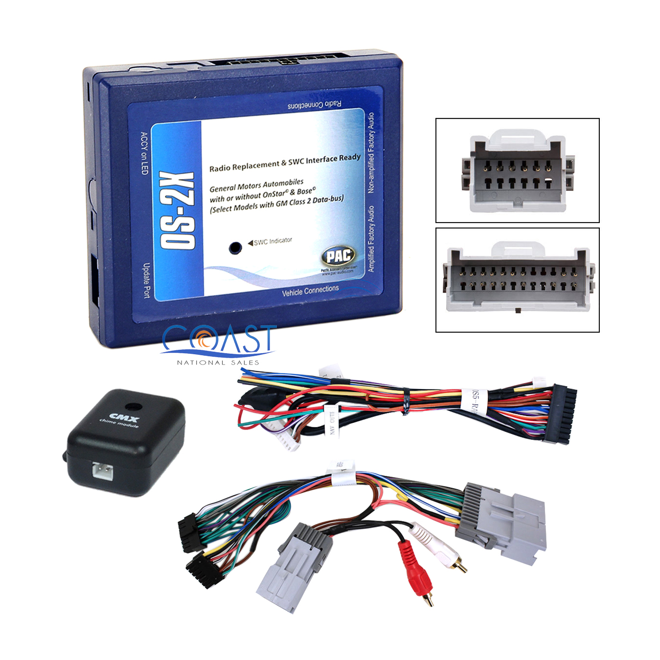 hight resolution of car radio bose onstar interface wiring harness for 2000 up gm chevrolet pontiac