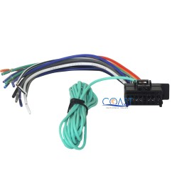 car radio audio replacement 16 pin wiring harness for pioneer headunits [ 2520 x 2520 Pixel ]