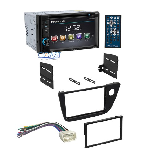 small resolution of planet audio car radio stereo dash kit wiring harness for 2002 2006 acura rsx