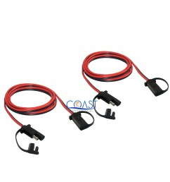 2x car quick disconnect connect 16 gauge 2 pin 48 sae waterproof wire harness [ 3238 x 3238 Pixel ]