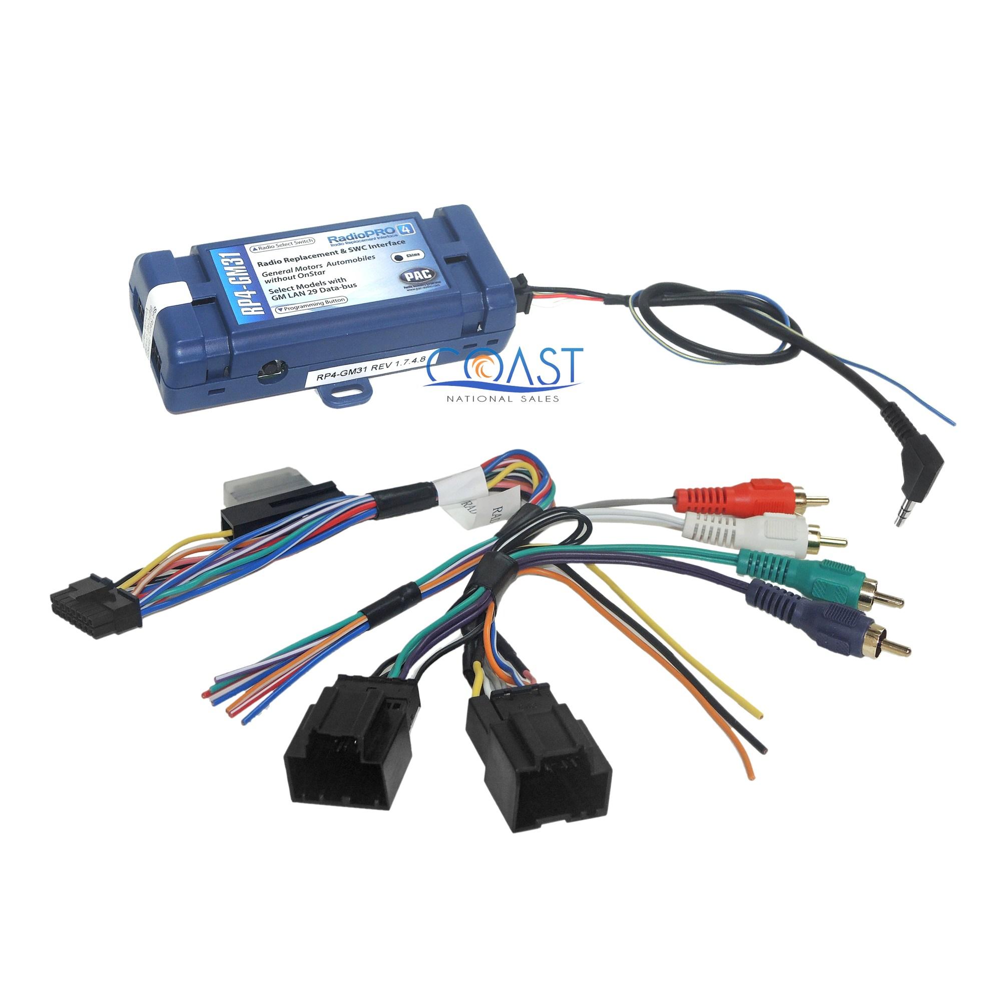 hight resolution of gm car radio stereo harness interface w steering wheel retention gm car radio stereo harness interface