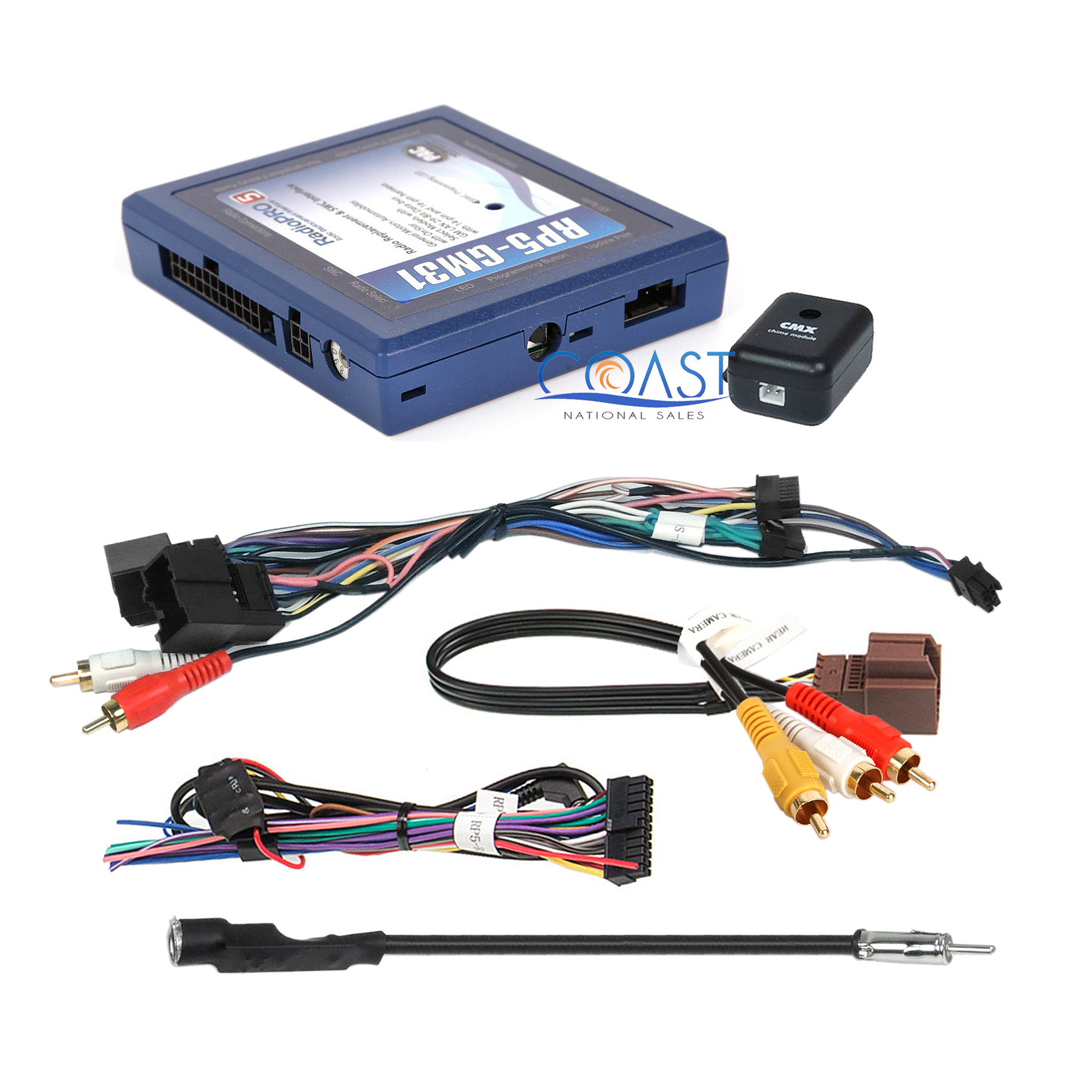 Gm Car Stereo Replacement Factory Interface Module W Wiring Harness