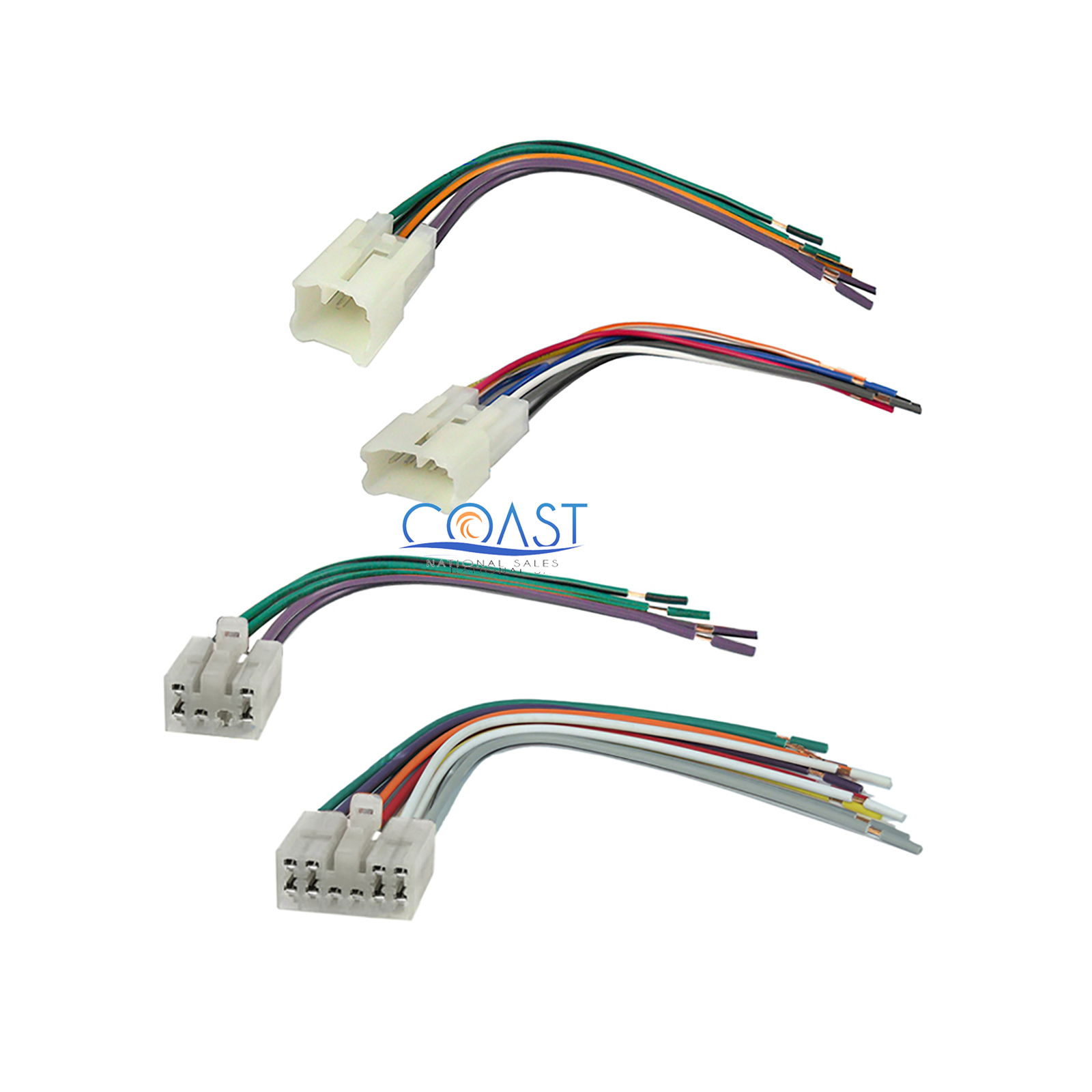 Toyota W58814 Car Stereo Wiring Diagram Harness Pinout Connector