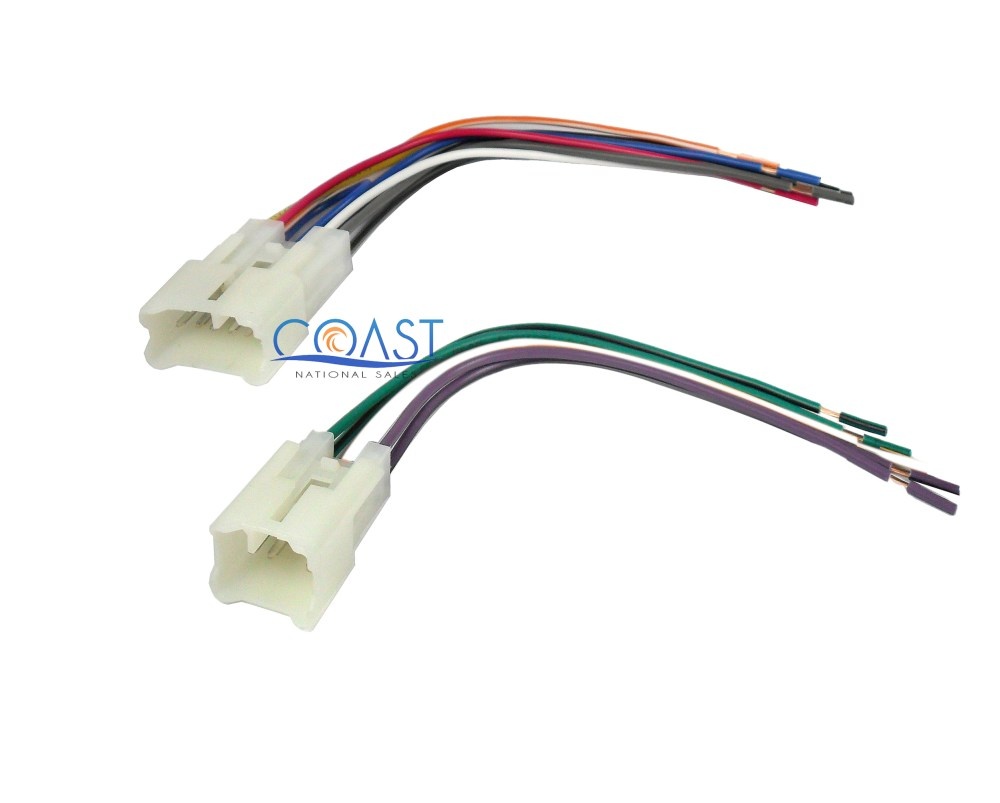 medium resolution of details about integration stereo radio wiring harness for 1987 2007 toyota scion vehicles