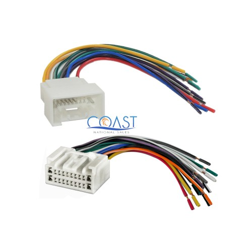 small resolution of  toyotum wiring harnes car radio stereo wire wiring harness combo for select 2000