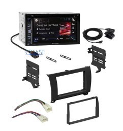 details about pioneer car radio black dash kit wire harness for 07 13 toyota tundra sequoia [ 2073 x 2073 Pixel ]