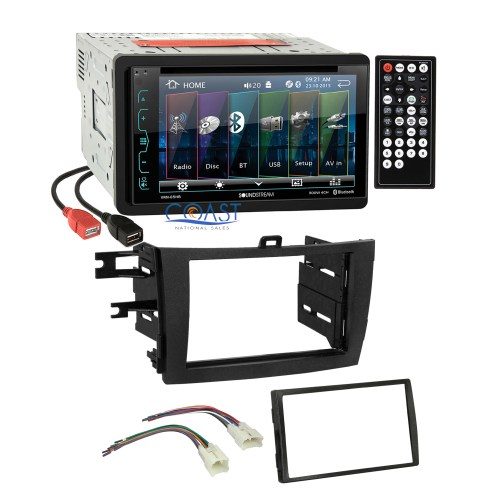 small resolution of soundstream dvd usb bluetooth stereo dash kit harness for 09 13 91 ford stereo wiring harness soundstream car audio wiring harness
