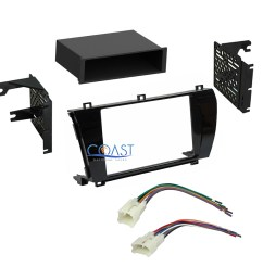 car radio stereo single din dash kit wire harness for 2014 2015 toyota corolla [ 1758 x 1758 Pixel ]