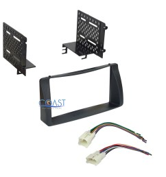details about double din car radio stereo dash kit wire harness for 2003 2008 toyota corolla [ 2700 x 2700 Pixel ]