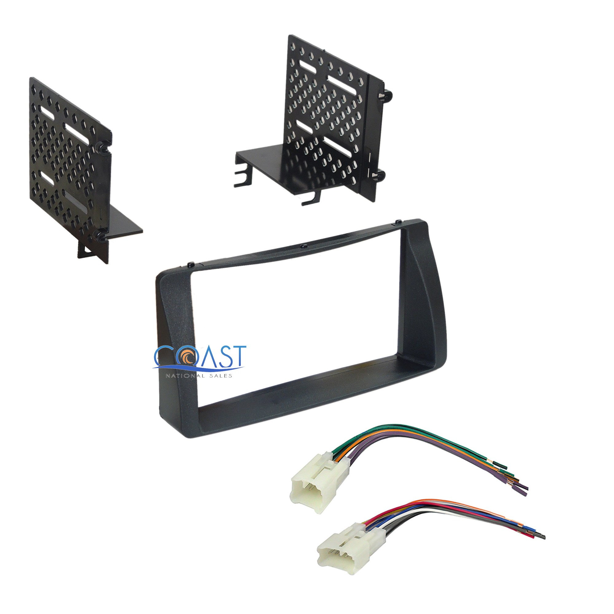 hight resolution of details about double din car radio stereo dash kit wire harness for 2003 2008 toyota corolla