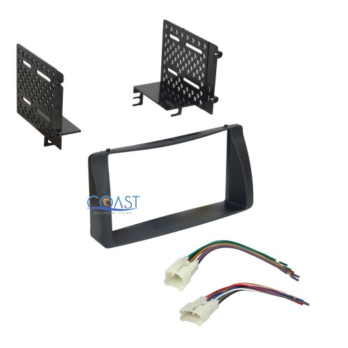 small resolution of details about double din car radio stereo dash kit wire harness for 2003 2008 toyota corolla