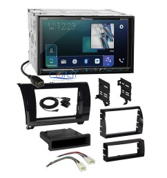 details about pioneer sirius gps ready radio gloss dash kit harness for toyota tundra sequoia [ 1800 x 1800 Pixel ]