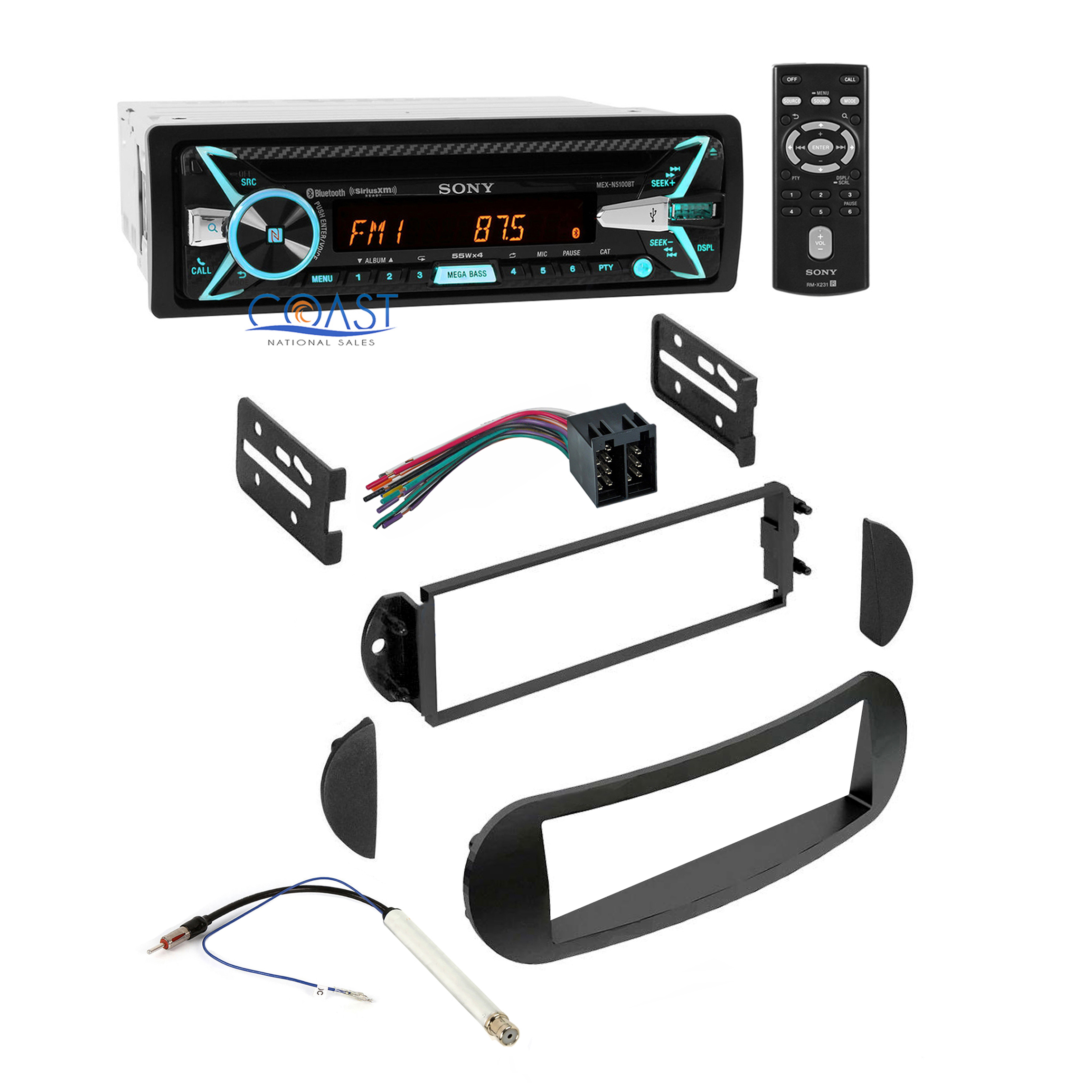 Alpine Stereo Wire Harness For Dodge Ram