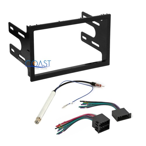 small resolution of car radio stereo dash kit wire harness antenna for 1998 02 vw golf jetta passat