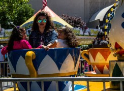 Rides at the San Mateo County Fair. Dawn Page/CoastsideSlacking