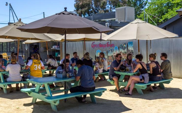 Fremont Diner in Sonoma. Dawn Page/Coastsideslacking