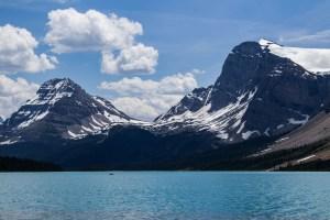 Bow lake in Banff National Park. Dawn Page / CoastsideSlacking