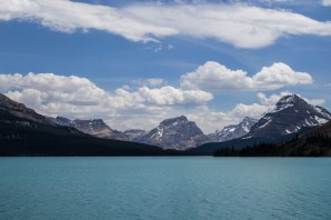 Bow lake in Banff National Park. Dawn Page / CoastsideSlacking